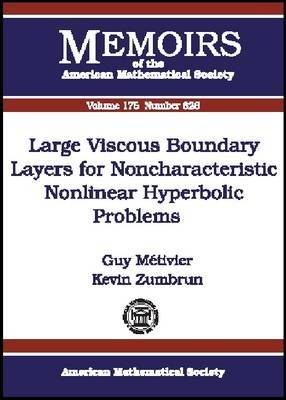 Large Viscous Boundary Layers for Noncharacteristic Nonlinear Hyperbolic Problems