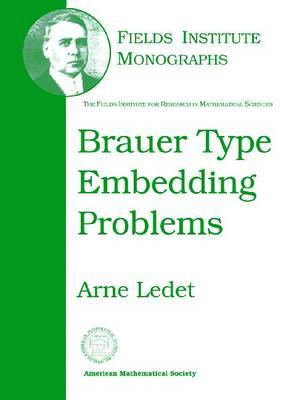 Brauer Type Embedding Problems