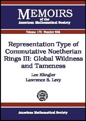 Representation Type of Commutative Noetherian Rings III: Global Wildness and Tameness
