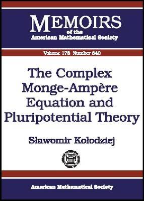 The Complex Monge-Ampere Equation and Pluripotential Theory
