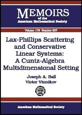 Lax-Phillips Scattering and Conservative Linear Systems: A Cuntz-algebra Multidimensional Setting