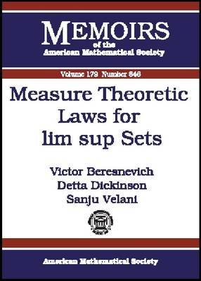 Measure Theoretic Laws for Lim Sup Sets