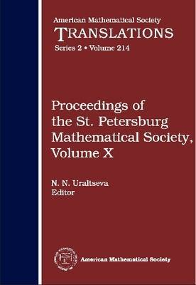 Proceedings of the St. Petersburg Mathematical Society: v. 10