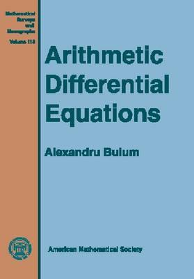 Arithmetic Differential Equations