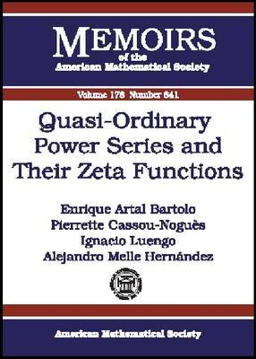 Quasi-ordinary Power Series and Their Zeta Functions