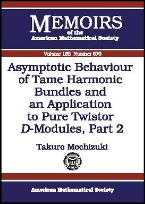 Asymptotic Behaviour of Tame Harmonic Bundles and an Application to Pure Twistor D-Modules: Pt. 2
