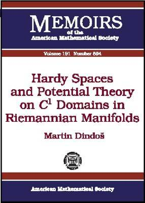 Hardy Spaces and Potential Theory on C1 Domains in Riemannian Manifolds