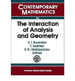 The Interaction of Analysis and Geometry
