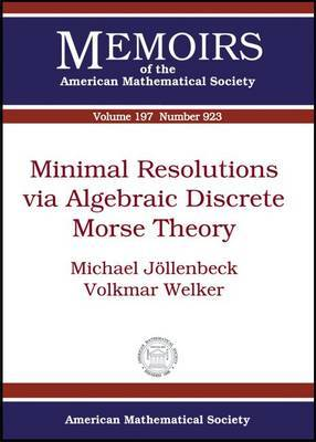Minimal Resolutions Via Algebraic Discrete Morse Theory