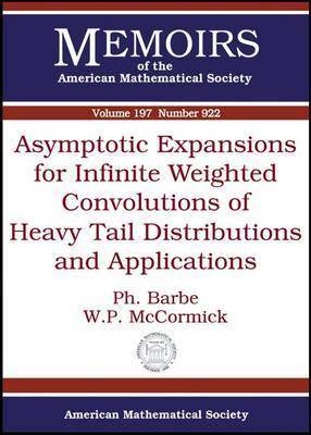 Asymptotic Expansions for Infinite Weighted Convolutions of Heavy Tail Distributions and Applications