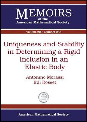 Uniqueness and Stability in Determining a Rigid Inclusion in an Elastic Body