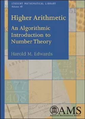 Higher Arithmetic: An Algorithmic Introduction to Number Theory