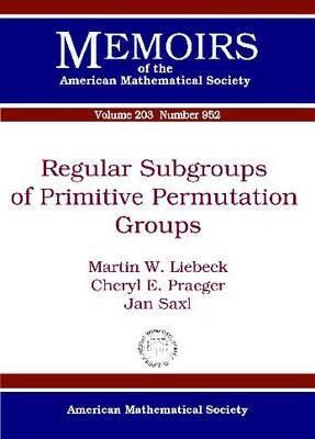 Regular Subgroups of Primitive Permutation Groups