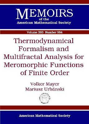modynamical Formalism and Multifractal Analysis for Meromorphic Functions of Finite Order