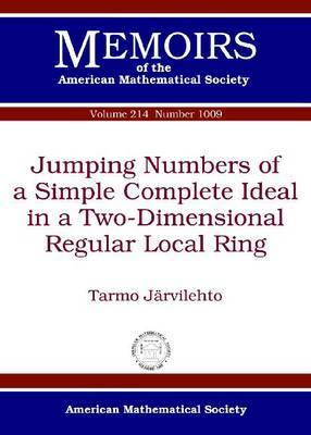 Jumping Numbers of a Simple Complete Ideal in a Two-Dimensional Regular Local Ring