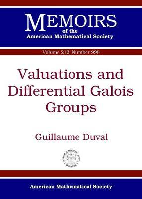 Valuations and Differential Galois Groups