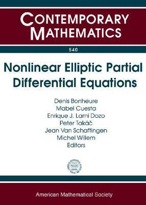 Nonlinear Elliptic Partial Differential Equations