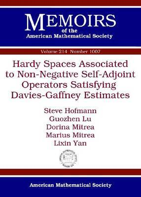 Hardy Spaces Associated to Non-Negative Self-Adjoint Operators Satisfying Davies-Gaffney Estimates