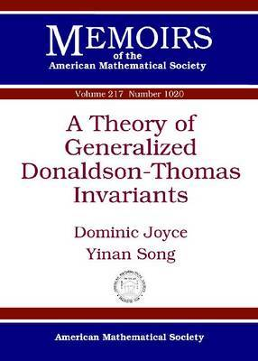 A Theory of Generalized Donaldson-Thomas Invariants