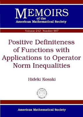 Positive Definiteness of Functions with Applications to Operator Norm Inequalities