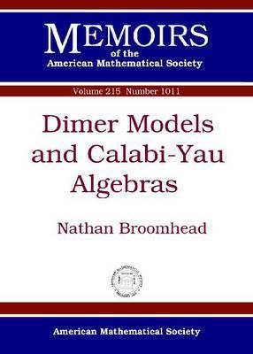 Dimer Models and Calabi-Yau Algebras