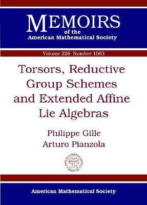Torsors, Reductive Group Schemes and Extended Affine Lie Algebras
