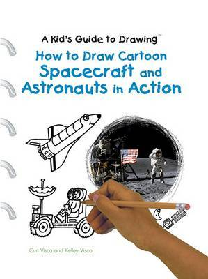 How to Draw Cartoon Spacecraft and Astronauts in Action