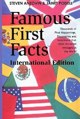 Famous First Facts: International Edition
