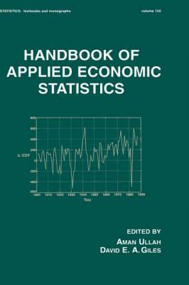 Handbook of Applied Economic Statistics