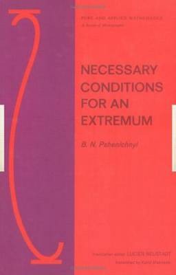 Necessary Conditions for an Extremum