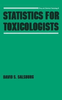 Statistics for Toxicologists