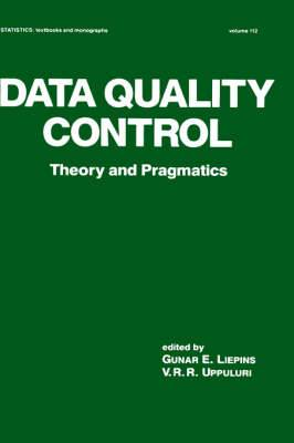 Data Quality Control: Theory and Pragmatics