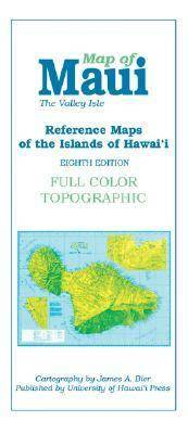 Reference Maps of the Islands of Hawai'i: Maui
