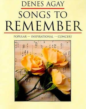 Denes Agay: Songs to Remember