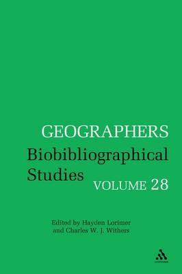 Geographers: v. 28