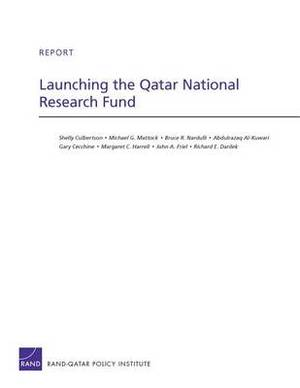 Launching the Qatar National Research Fund