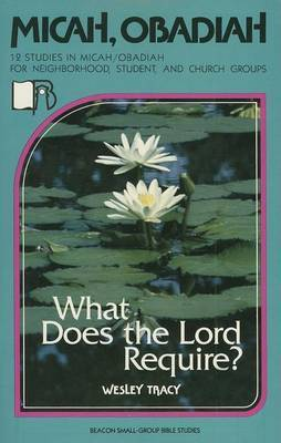 Micah/Obadiah: What Does the Lord Require?