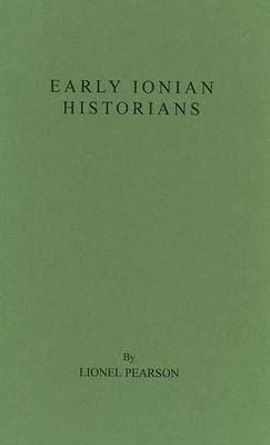 Early Ionian Historians