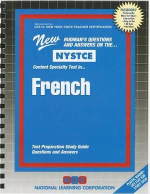 NYSTCE: Content Specialty Test In... French