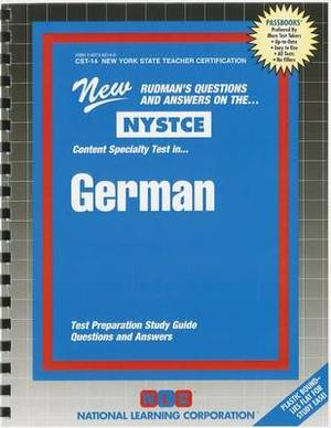 German: Content Specialty Test: Test Preparation Study Guide Questions & Answers