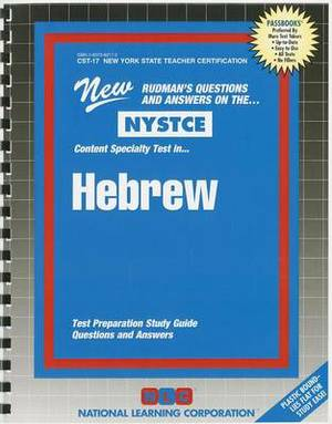 NYSTCE: Content Specialty Test In... Hebrew