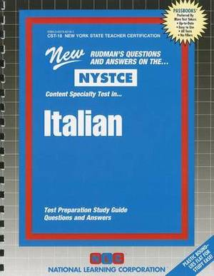 Italian: Test Preparation Study Guide Questions & Answers
