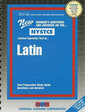 NYSTCE: Content Specialty Test In... Latin