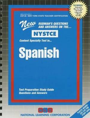 NYSTCE: Content Specialty Test In... Spanish
