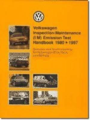 Volkswagen Inspection/maintenance (i/m) Emission Handbook 1980-97