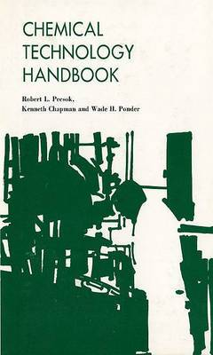 Chemical Technology Handbook: Guidebook for Industrial Chemical Technologists and Technicians