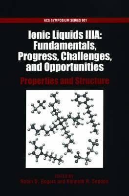 Ionic Liquids IIIA: Properties and Structure