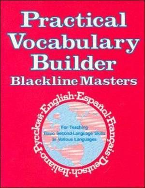 Practical Vocabulary Builder Blackline Masters