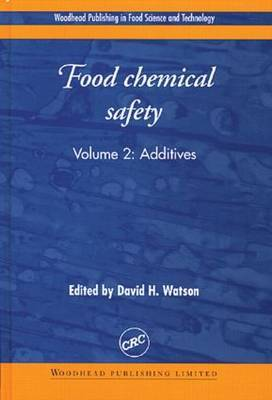 Food Chemical Safety: Vol 2: Additives