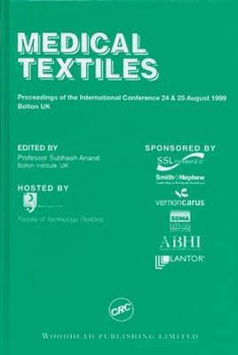 Medical Textiles: Proceedings of the 2nd International Conference and Exhibition